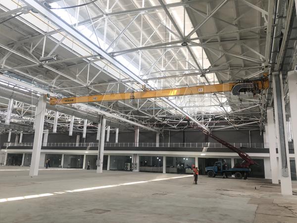LX European Standard 5 Ton Underhung Crane