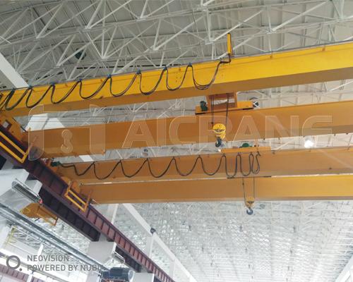 AQ-LH Hoist Overhead Crane in Workshop