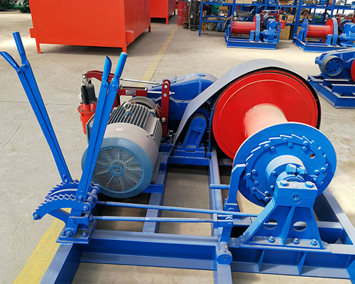Electric Piling Winch for Construction