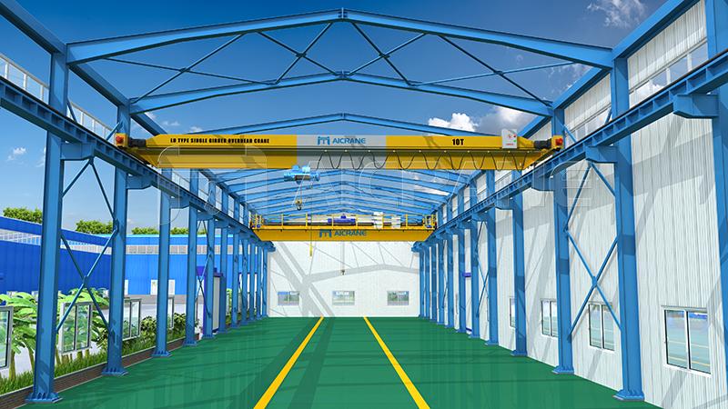Warehouse Overhead Crane Design