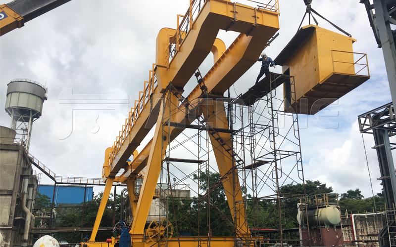Grab Gantry Crane 5 Ton