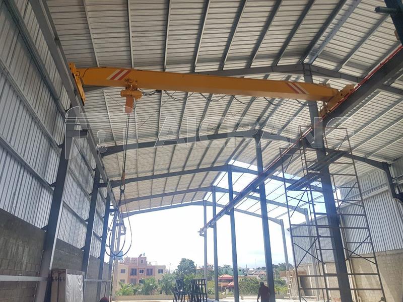 5 Ton Bridge Crane With Chain Hoist