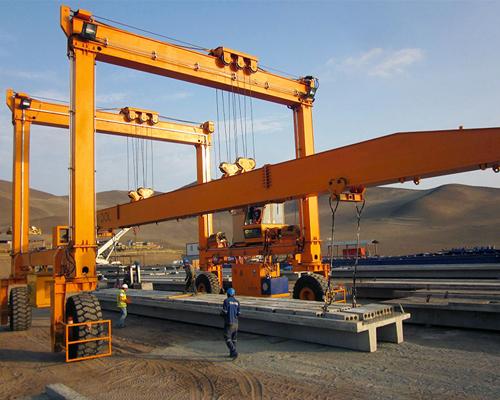 50 Ton Mobile Gantry Crane For Sale