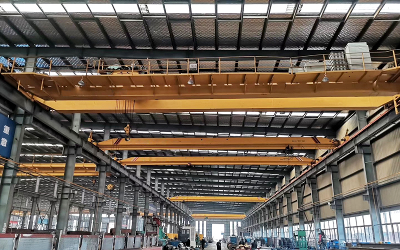 AQ-QD Double Girder Overhead Crane 10 Ton For Sale