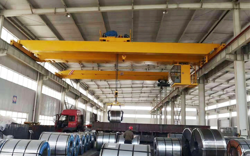 AQ-QDX 10 Ton Overhead Bridge Crane Supplier