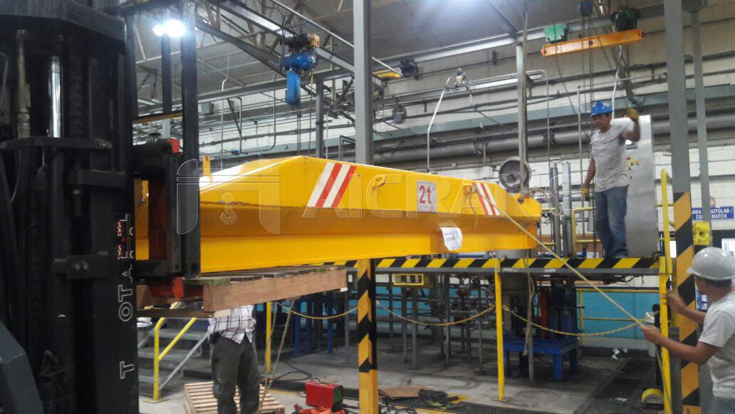 2 Ton Underhung Crane Installation