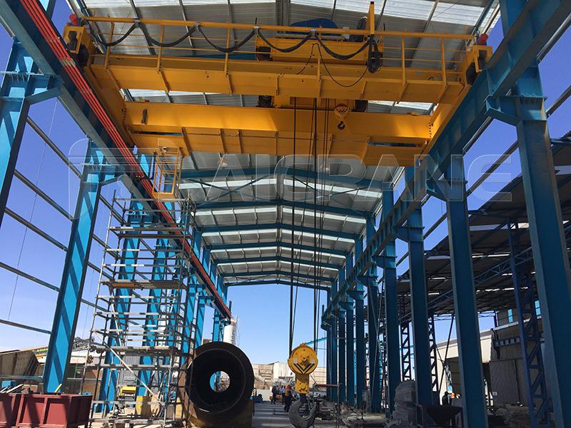 50 Ton Overhead Crane For Sale Chile