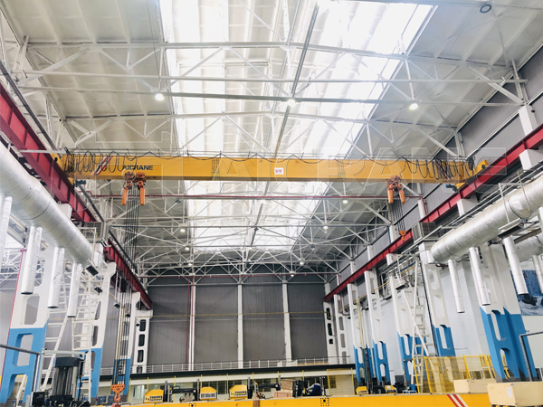 AQ-HD European Standard Single Girder Bridge Crane For Sale