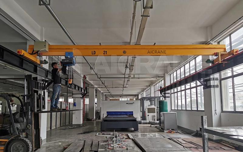 LD 2 Ton Overhead Crane Cost