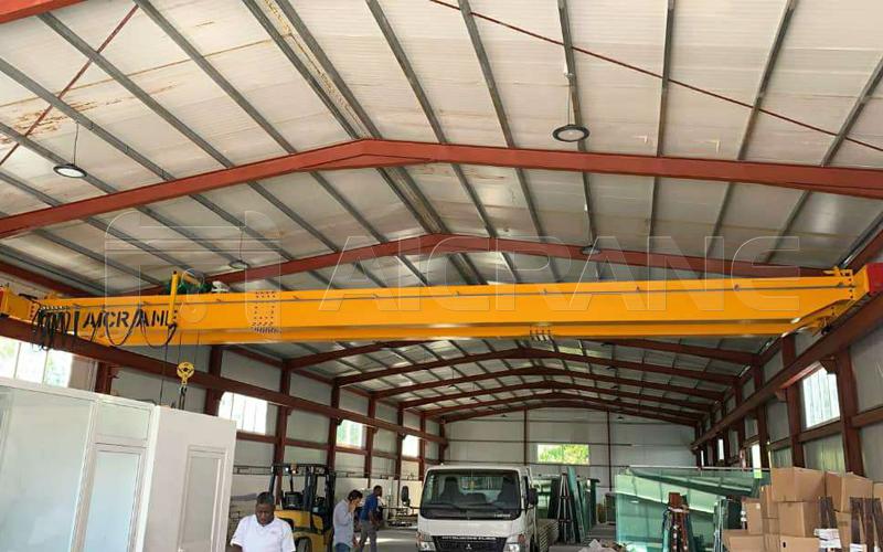 AQ-LH Double Girder 5t Bridge Crane For Sale
