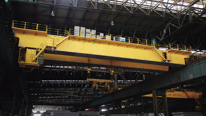 Metallurgical Overhead Crane For Sale