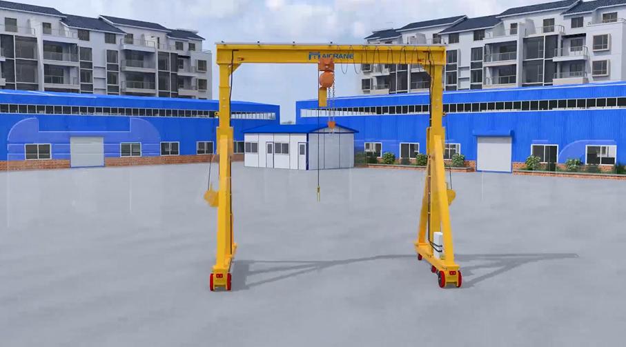 Portable Gantry Crane 2 Ton
