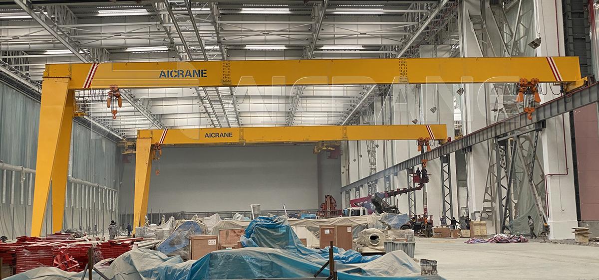 10 Ton And 20 Ton Semi Gantry Cranes
