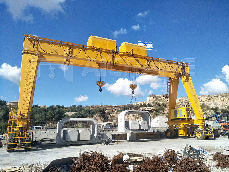 20T+20T Rubber Tired Gantry Crane Cost