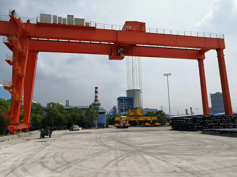 25 Ton Electromagnetic Overhead Crane With Carrier-beam
