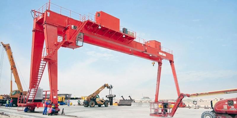 Hook Gantry Crane 25 Ton For Sale