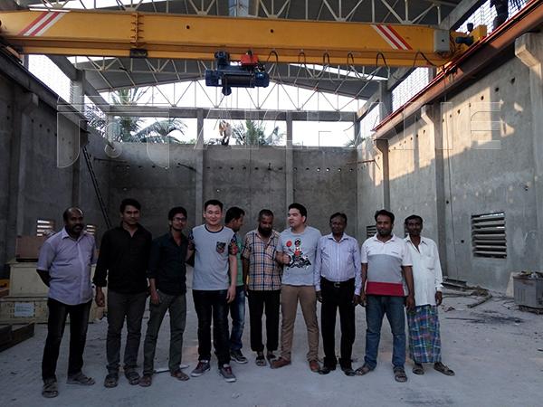 Aicrane Service Team in Bangladesh