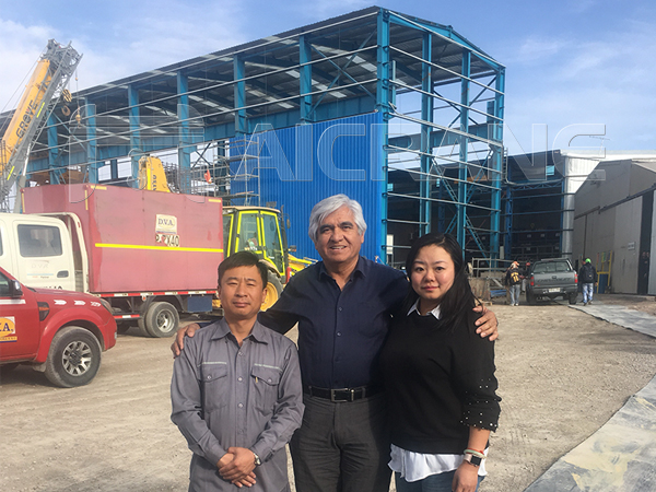 Aicrane Service Team in Chile