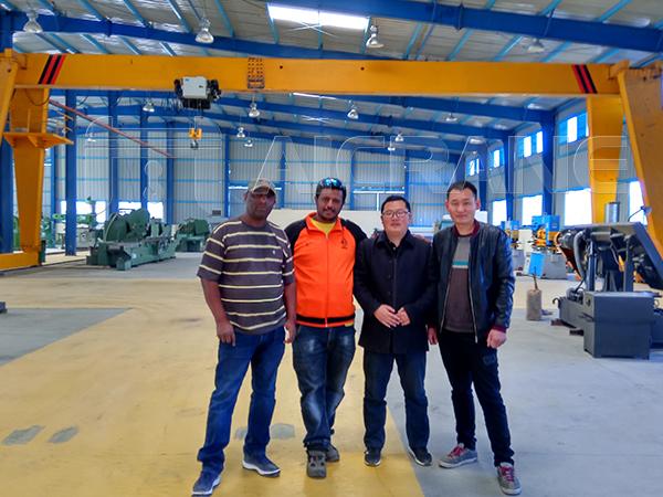Aicrane Service Team in Ethiopia