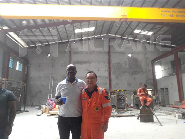 Aicrane Service Team in Nigeria