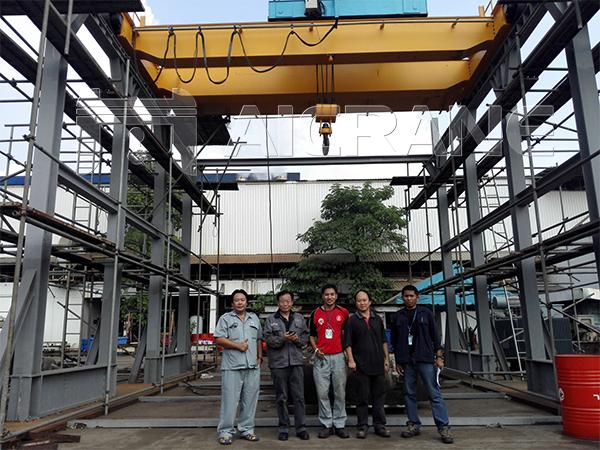 Aicrane Service Team in Thailand