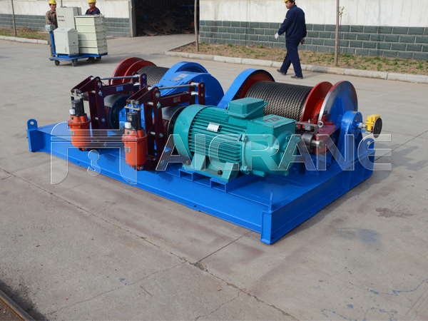 JM Double Drum Winch With Double Brake
