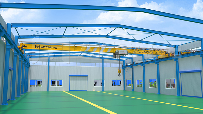 Steel Structure And Overhead Crane for Sale