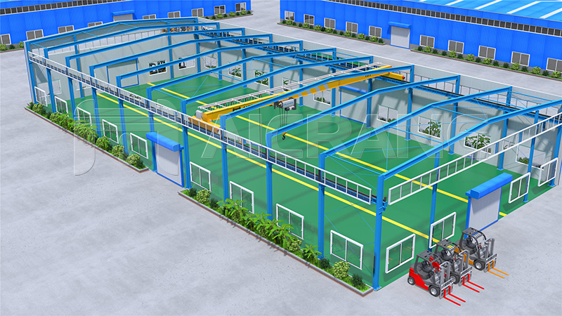 Steel Structure Warehouse Design