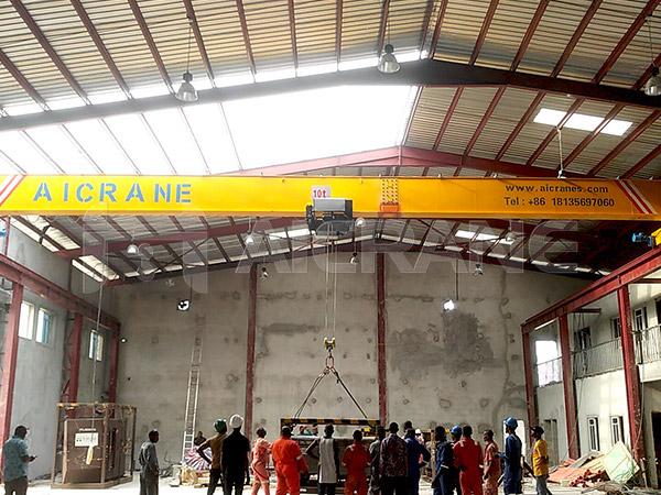 10T Overhead Crane Supplier in Nigeria