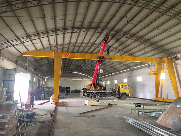 European Type Single Girder Indoor Gantry Crane Supplier