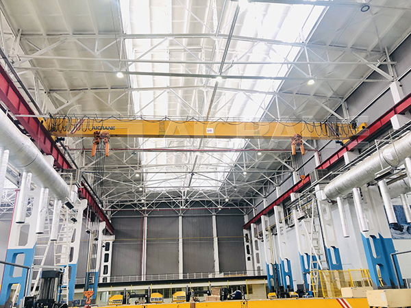 HD 10+16T Overhead Crane With Chain Hoists