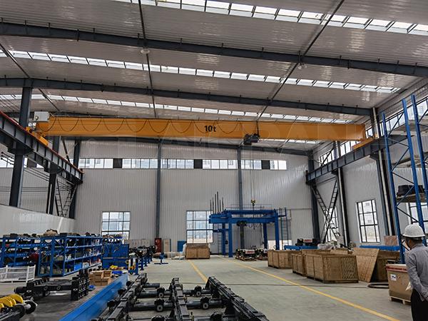 AQ-HD European Single Girder Overhead Crane For Factory
