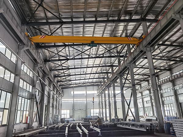 Single Girder Factory Overhead Crane