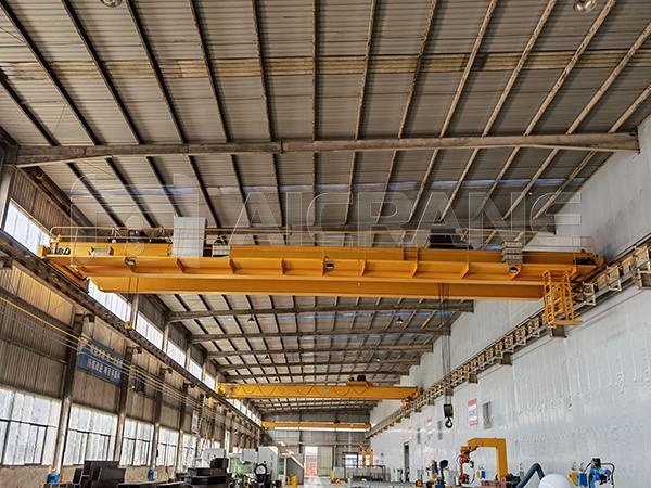 NLH Overhead Cranes In Factory