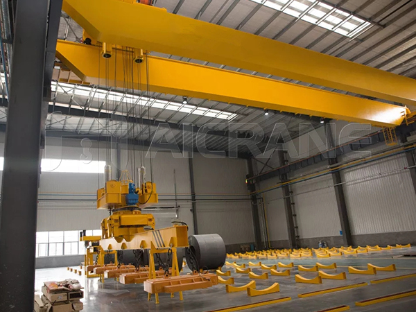 QCL Magnetic Overhead Crane for Handling Steel Coil