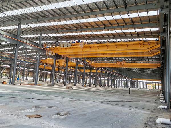 Double Girder Factory Crane