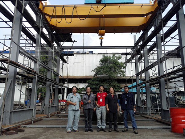 Double Girder Overhead Crane Price Thailand