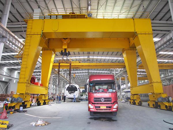 AQ-MG Double Girder Indoor Gantry Crane Manufacturer