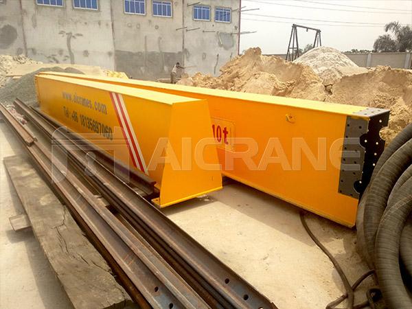 Single Girder Overhead Crane For Sale Nigeria