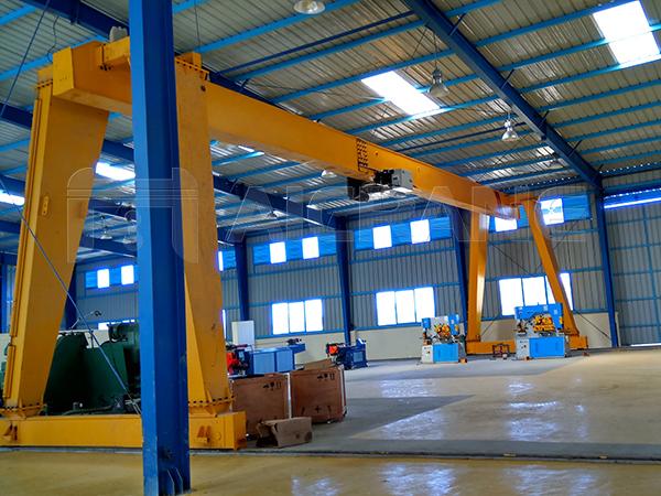 Indoor Gantry Crane Supplier