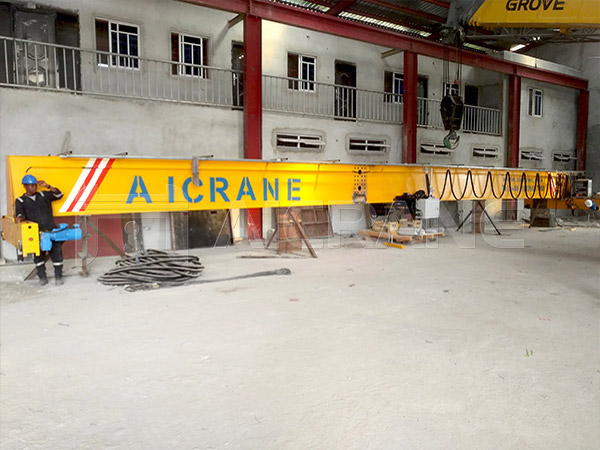 Installation of 10 Ton Overhead Crane in Nigeria