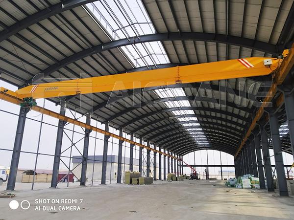 LD Overhead Crane in Material Yard