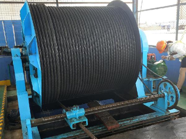 Rope Storage Drum