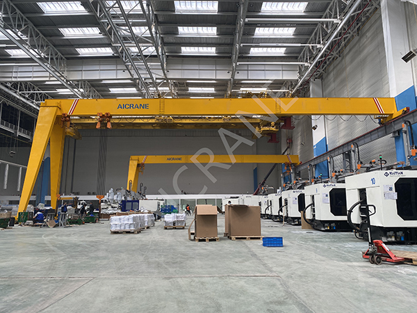 Single Girder Semi Gantry Crane Price