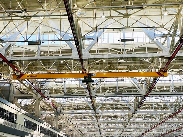 AQ-LX Underhung Crane in Factory