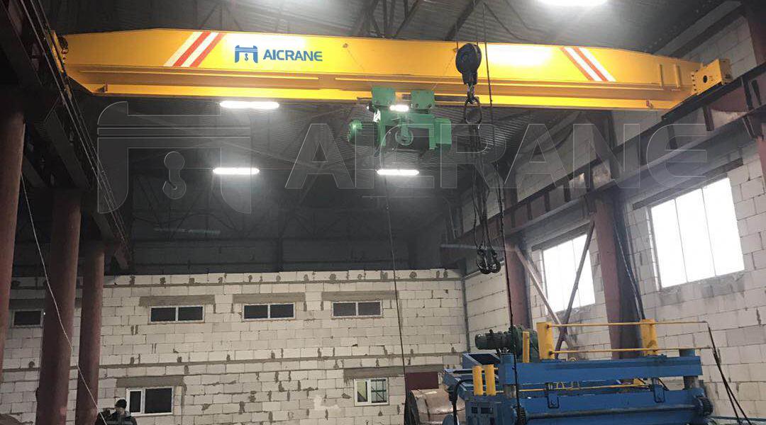 LD 20 Ton Hoist Overhead Crane in Kazakhstan