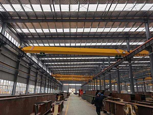 LD Overhead Crane With Double Hoist