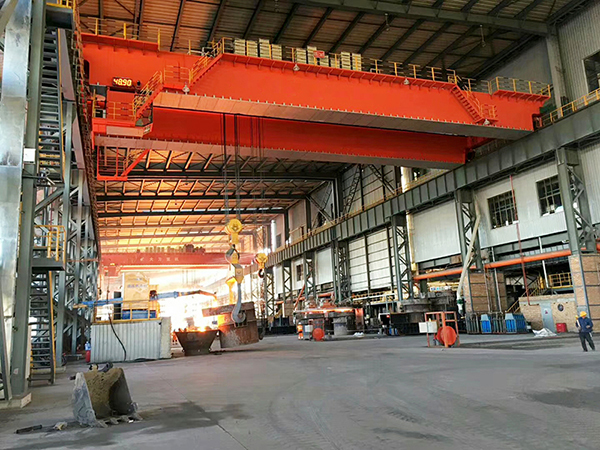 Metallurgical Casting Bridge Crane Manufacturer