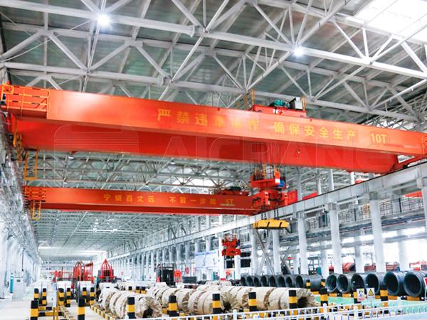 AQ-QC Electromagnetic Overhead Crane