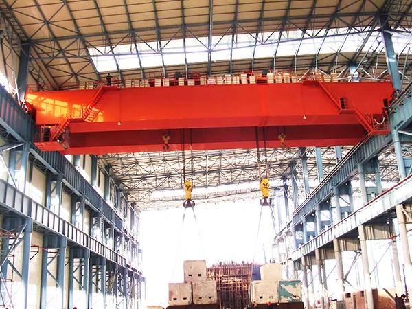 QE Double Trolley Overhead Crane For Sale